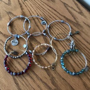 Alex and Ani Bracelets Bundle of 9 $10